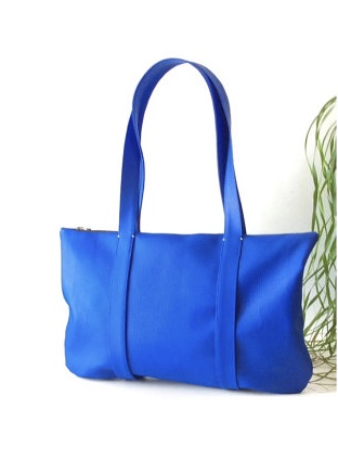 Cobalt Blue Hobo Bag