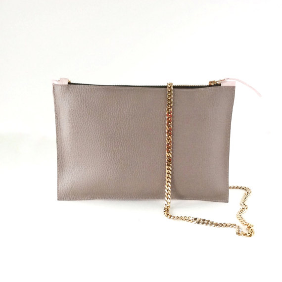 GRAY MINI BAG CHAIN BAG