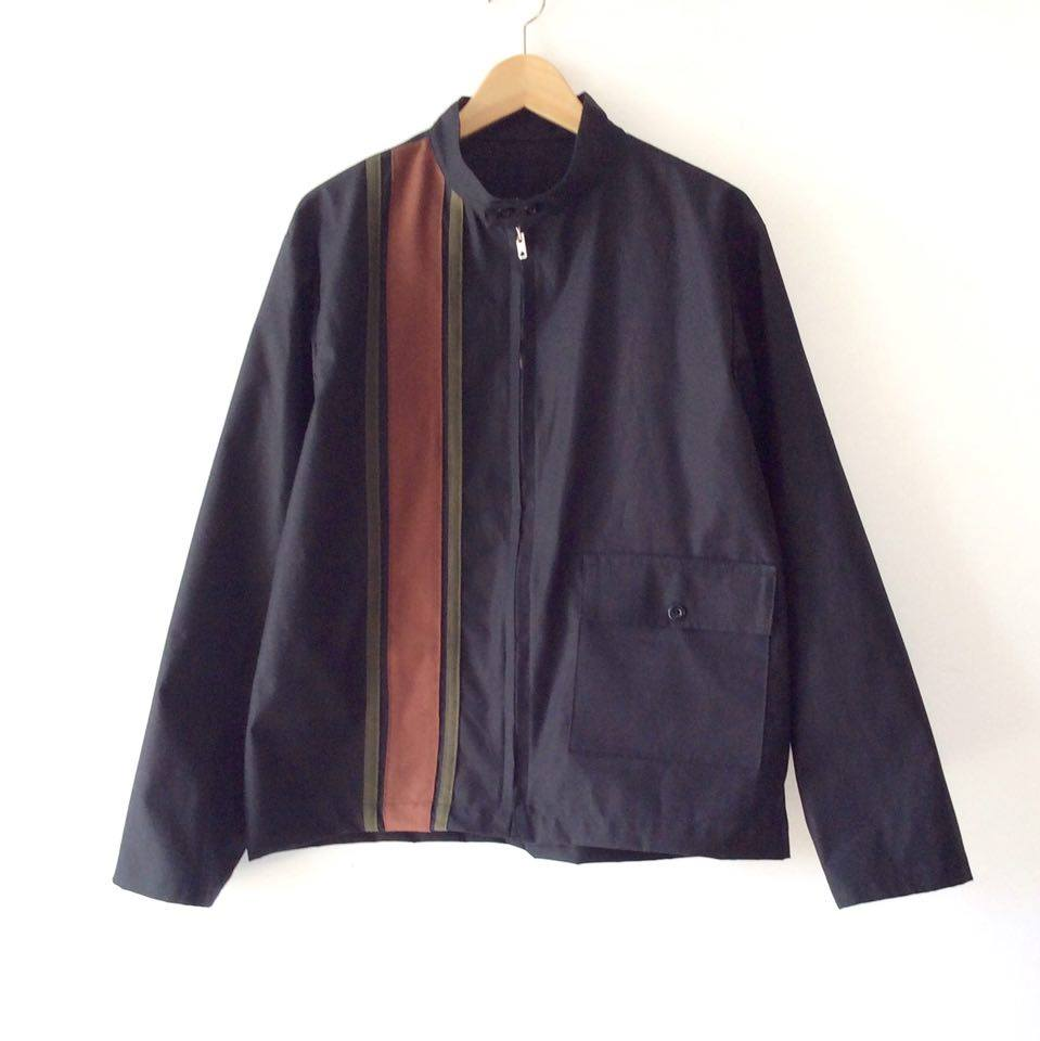 Black Racing Jacket