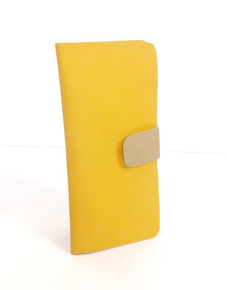 Yellow Travel Wallet For Women Animal-Free Vegan, More Colors