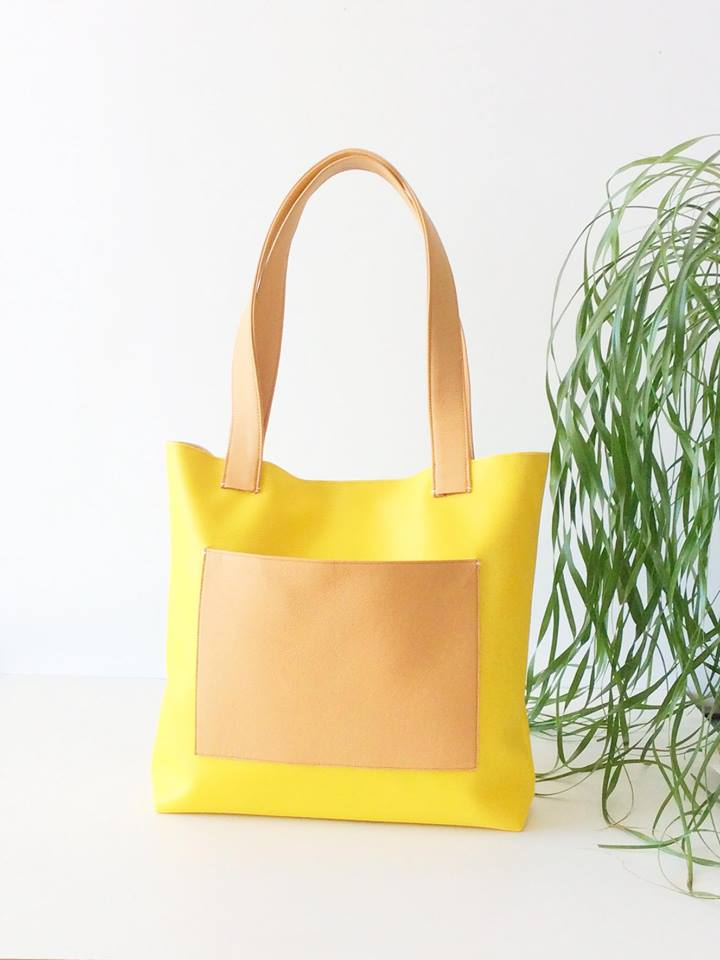 Yellow Mini Bag vegan