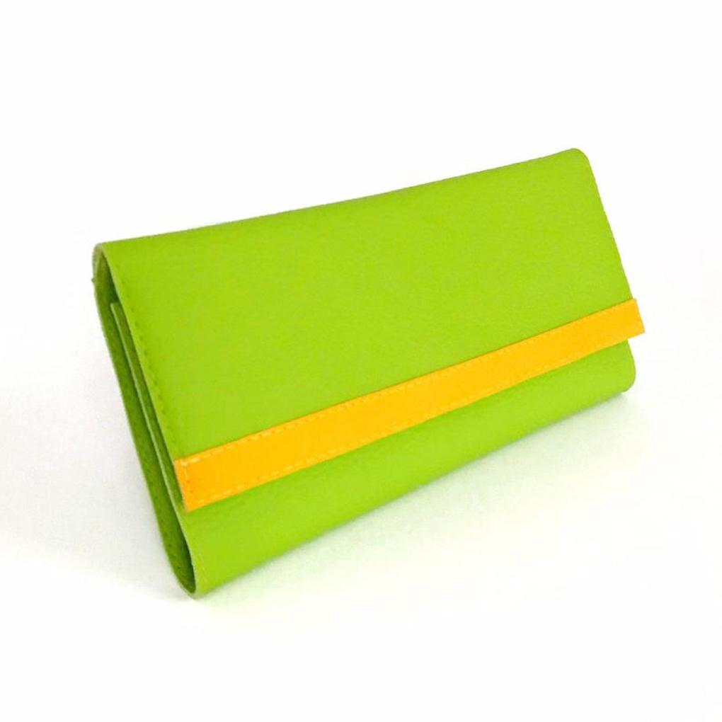 Clutch Wallet Purse | Green Wallet Vegan | Choose Your Colors