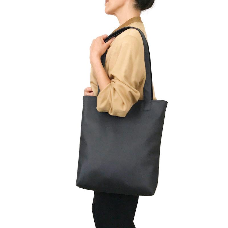 Sarah Camel Tote Bag, Large Vegan Tote Bag