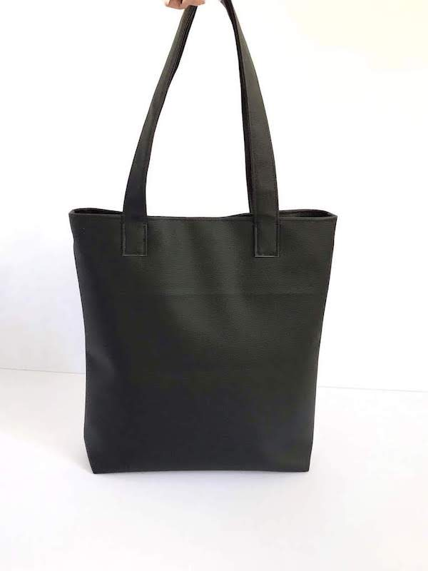 Black Tote Bag Large, Choose Your Color