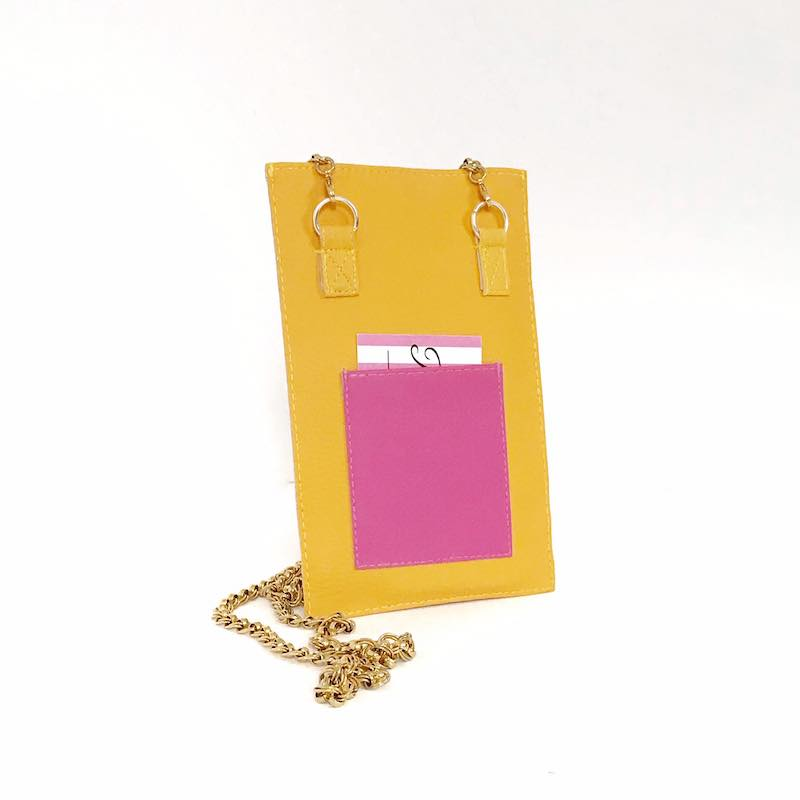 Cell Phone Crossbody, Bag phone Yellow, Choose Your Color