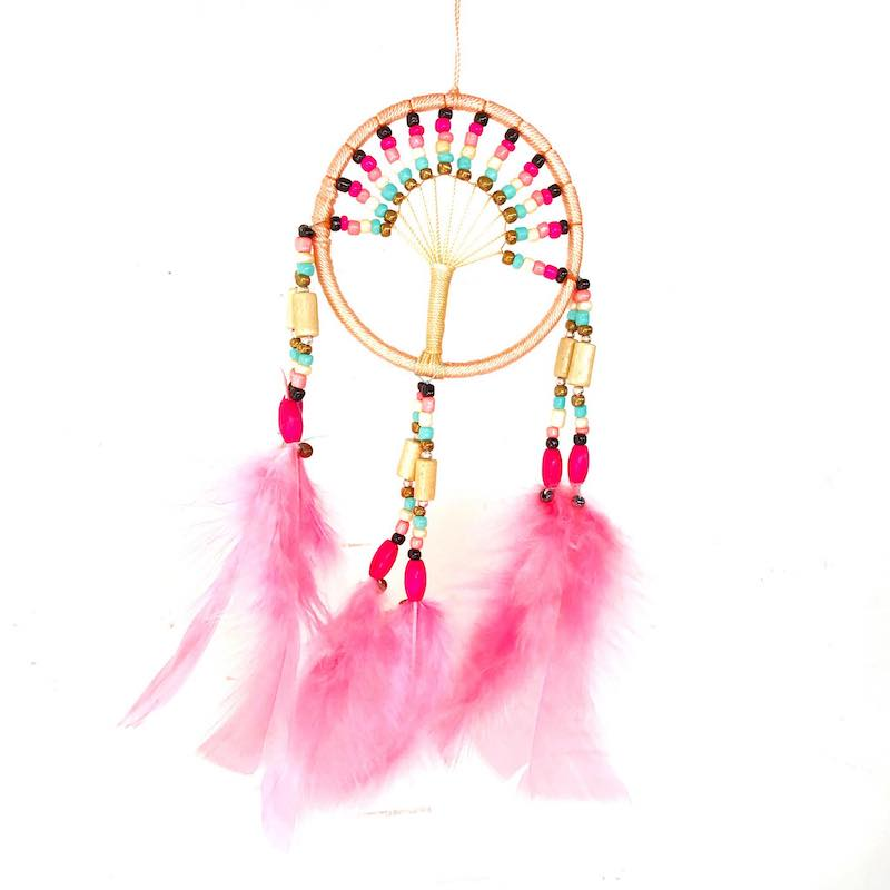 Lovely Pink Dream Catcher