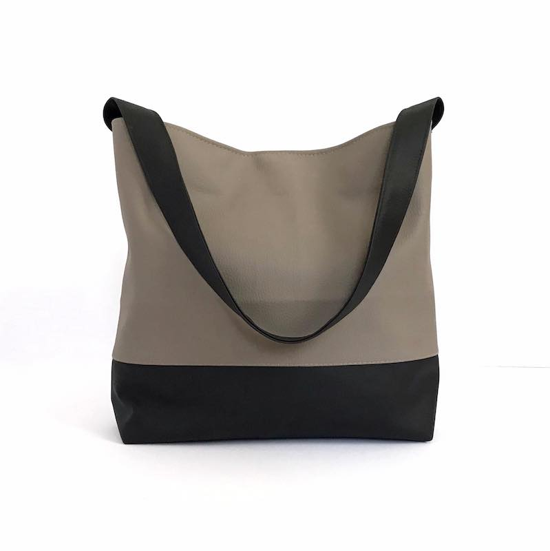 Slouchy Hobo Bag, Gray Shoulder Bag, Choose Your Colors