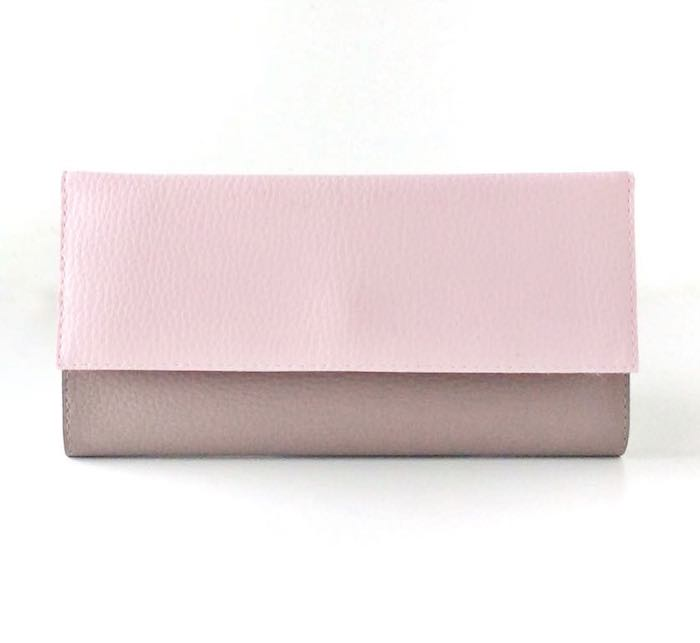 Vegan Wallet For Women, Light Pink Wallet