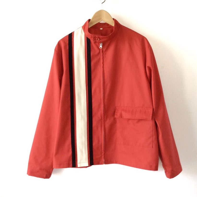 Red Racing Jacket for Men