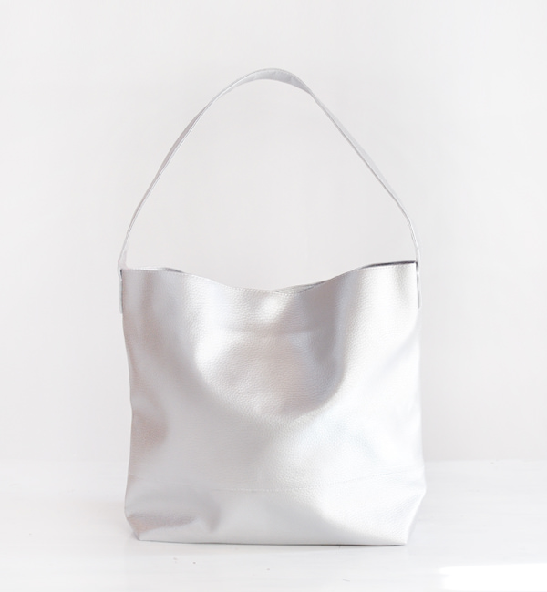SILVER HOBO BAG, CHOOSE YOUR COLOR