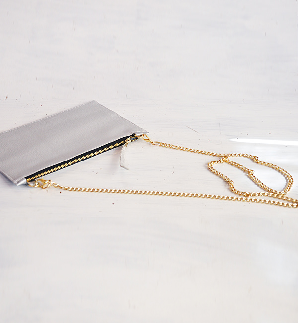SMALL SILVER SHOULDER BAG, CHOOSE YOUR COLOR