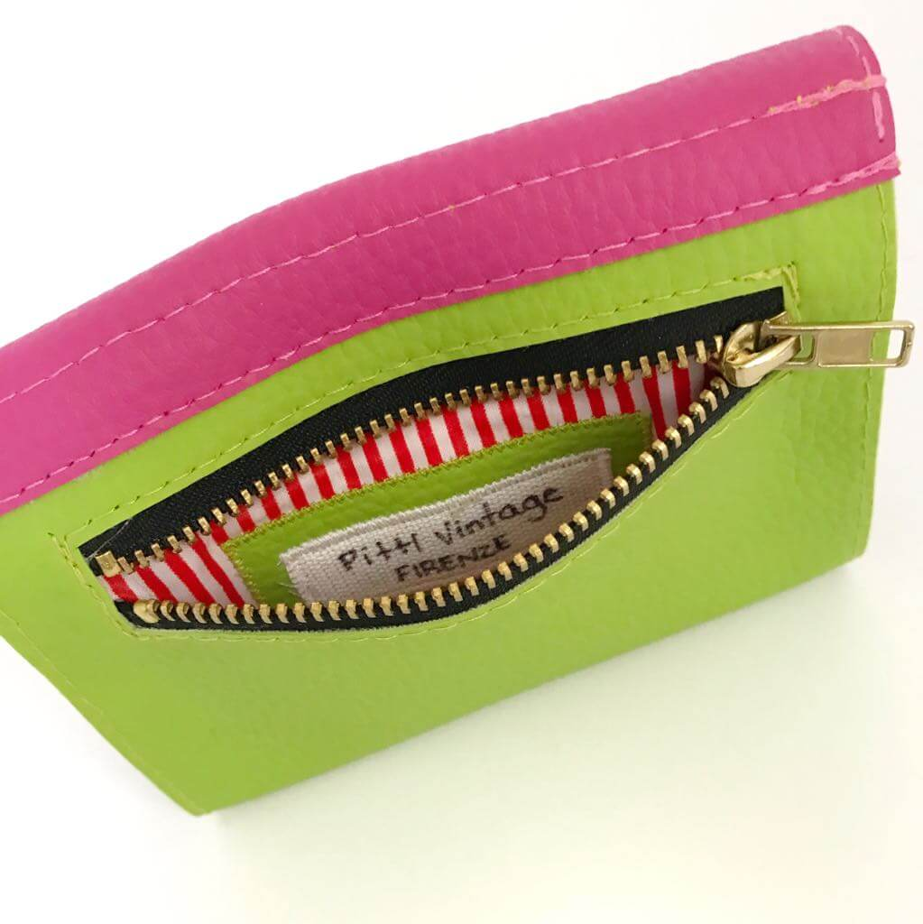 Small Womens Wallet, Color Block Wallet, Choose Your Color