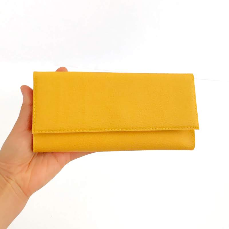 Credit Card Wallet Women, Yellow Wallet, Other Colors Available